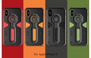 Ốp dẻo chống shock Nillkin Defender II iPhone X/Xs